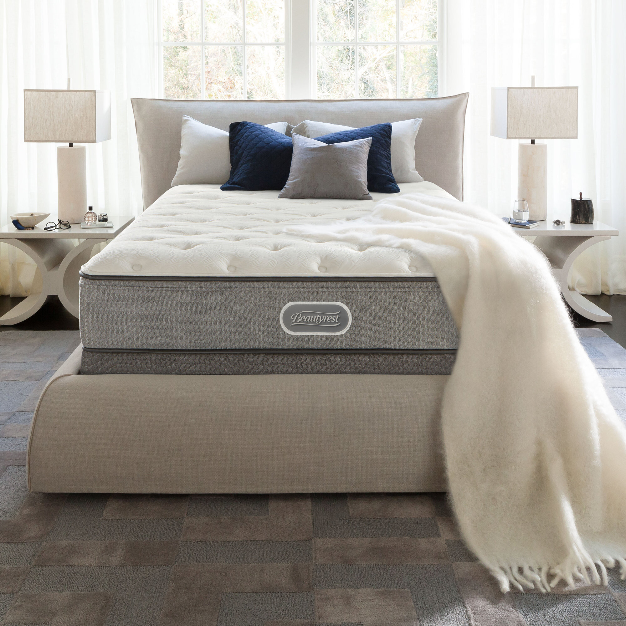 topper queen pillow top mattress sienna c