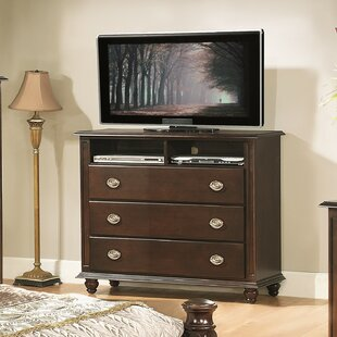Daley 3 Drawer Media Chest Darby Home Co