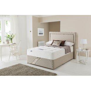 Victoria Mirapocket 1350 Natural Divan Bed By Silentnight