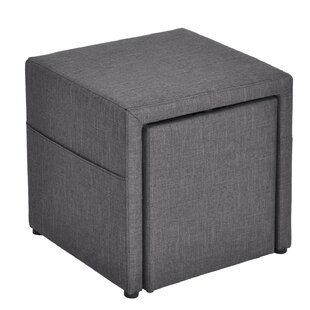 Howser Storage Ottoman (Set of 2) by Ebern Designs