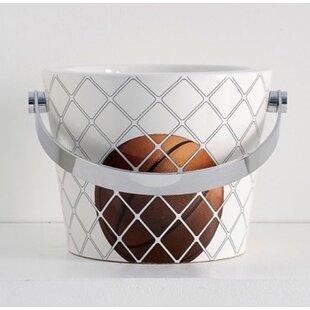 Best Deals Bucket Ceramic Circular Vessel Bathroom Sink with Overflow ByScarabeo by Nameeks