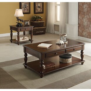 A&J Homes Studio Farrel 2 Piece Coffee Table Set