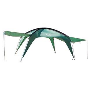 Cottonwood XLT 10 Ft. W x 10 Ft. D Aluminum Pop-Up Canopy by PahaQue