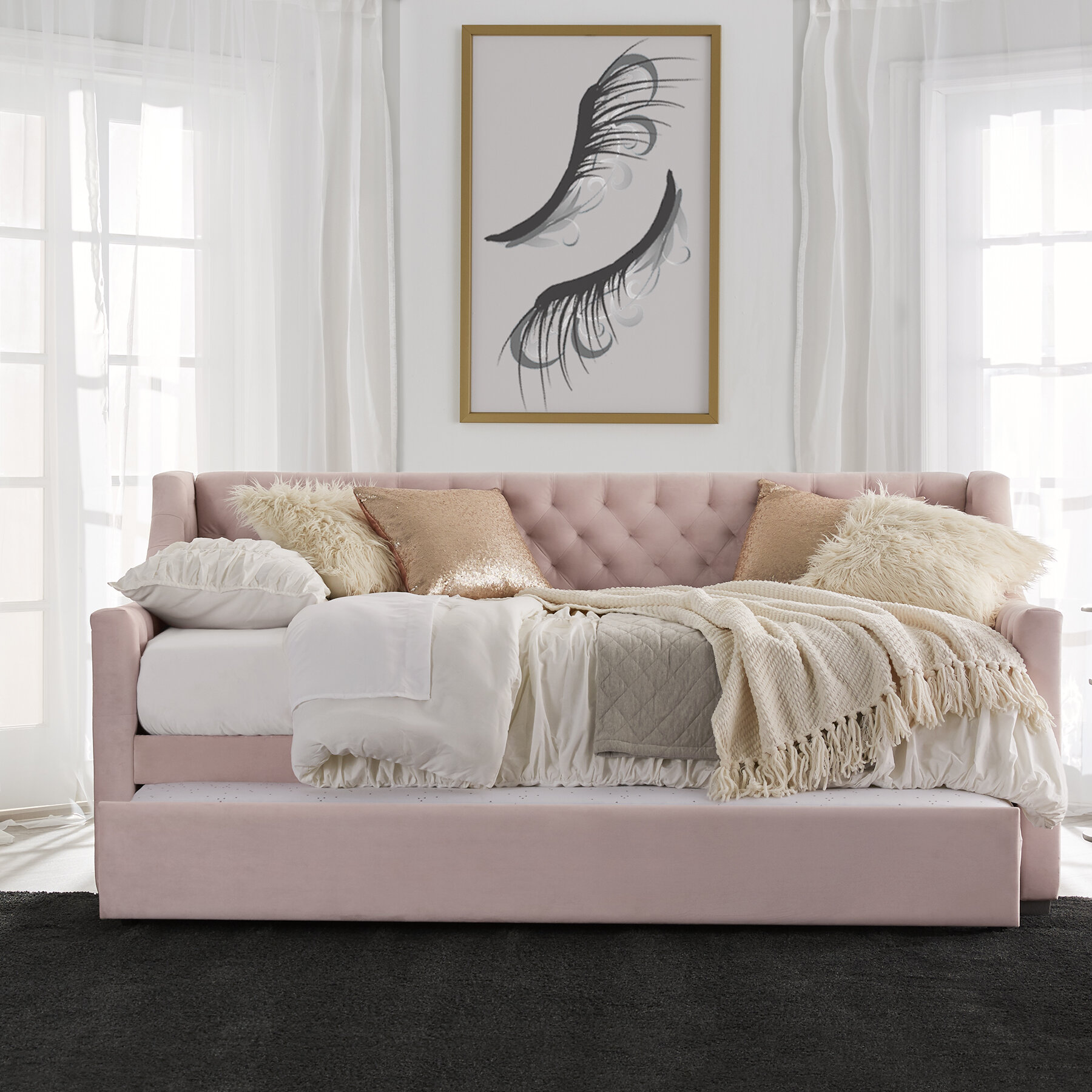 - Monarch Hill Ambrosia Twin Daybed With Trundle & Reviews Joss & Main