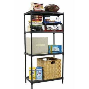 4-Shelf Wire Mesh Shelving
