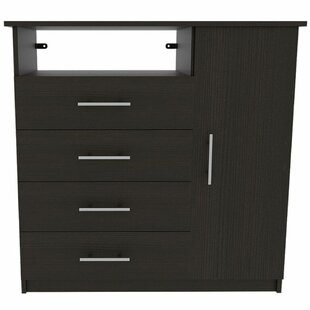 Abdi 4 Drawer Combo Dresser By Ebern Designs