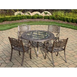 Oakland Living Mississippi 5 Piece Dining Set