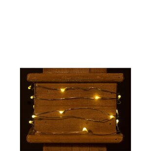 The Holiday Aisle Caenada LED 20 Light Fairy String Light with Timer (Set of 3)