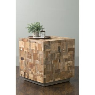 Read Reviews Oriana End Table by Bay Isle Home