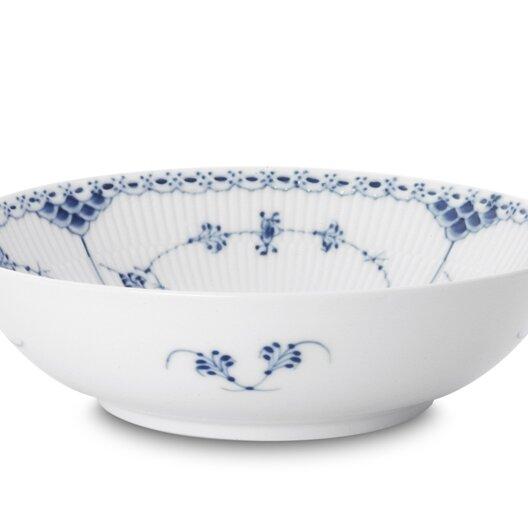 Royal Copenhagen Blue Fluted Half Lace 37 Fl Oz Serving Bowl Wayfair