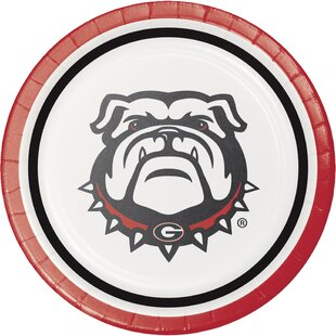 University of Georgia Paper Dessert Plate (Set of 24)