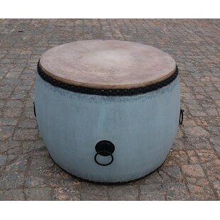 Read Reviews Drum End Table By Sarreid Ltd