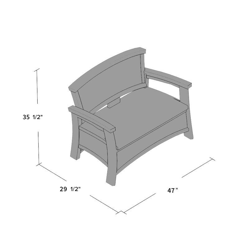 New Elena Wicker Storage Bench & Reviews | Joss & Main UM18
