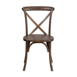 Mortola Solid Wood Dining Chair by Gracie..