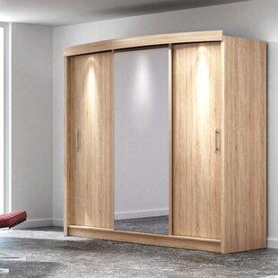 Tyrese 2 Door Sliding Wardrobe By Ebern Designs