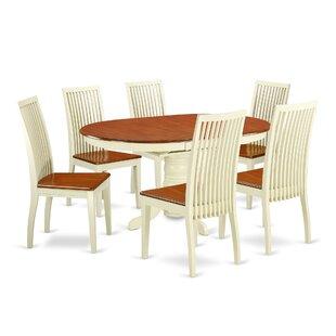 Alcott Hill Emmaline 7 Piece Dining Set