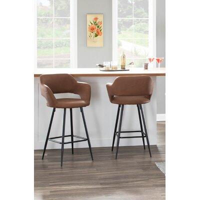 Full Back With Arms Bar Stools You Ll Love In 2019 Wayfair