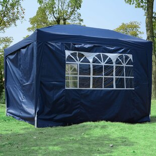 Centro 3m X 3m Steel Pop-Up Gazebo By Sol 72 Outdoor