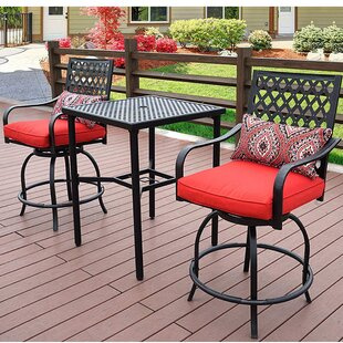 Earby 3 Piece Bar Set by D..