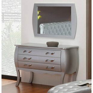 Purchase Gisela 3 Drawer Dresser by House of Hampton