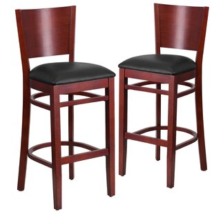 Harriet 32 Bar Stool (Set of 2) Red Barrel Studio