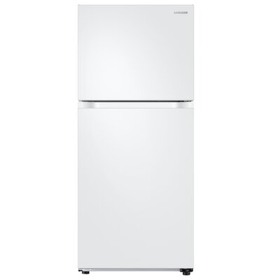 17.6 cu. ft. Top Freezer Refrigerator with FlexZone Freezer Samsung
