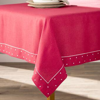Charlton Home Sherly Tablecloth Reviews Wayfair