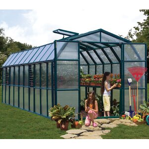 Grand Gardener 2 Twin Wall 8 Ft. W x 20 Ft. D Greenhouse