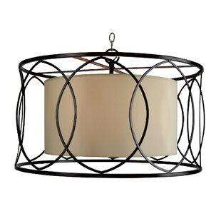 Leila 3-Light Drum Pendant..