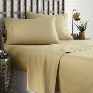 Brookes 1800 Series Platinum Microfiber Sheet Set