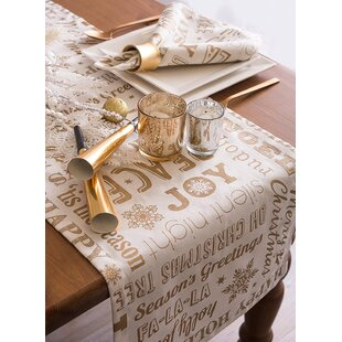 Christmas Table Runners You Ll Love In 2019 Wayfair