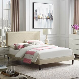 Ayala Upholstered Platform Bed