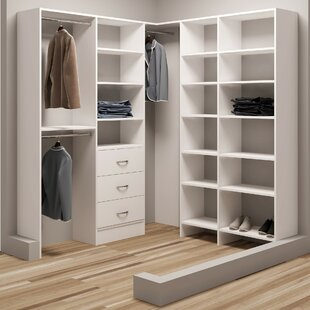 Price comparison Demure Design 72.25W - 75W Closet System By TidySquares Inc.