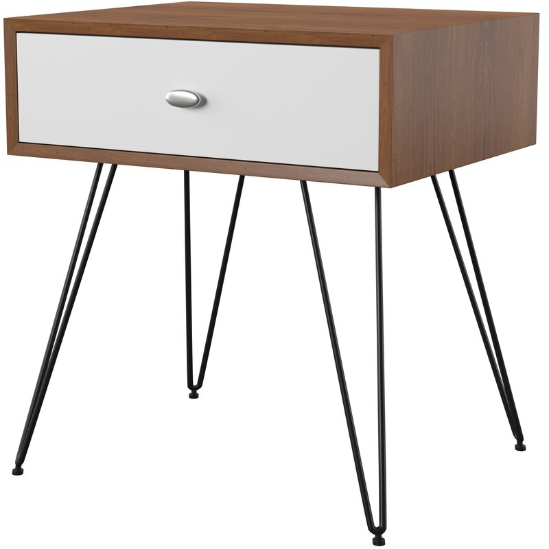 Mercury Row  Stender End Table with Storage