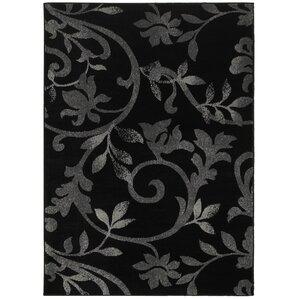 myra black area rug