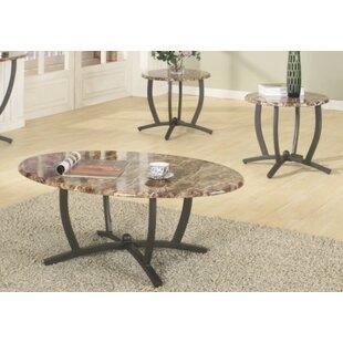 Savings Leonard 3 Piece Coffee Table Set ByEbern Designs