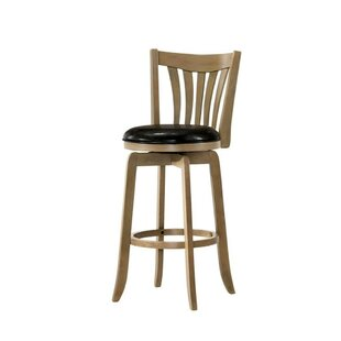 Haynes Wooden 29 Bar Stool by Alcott Hill