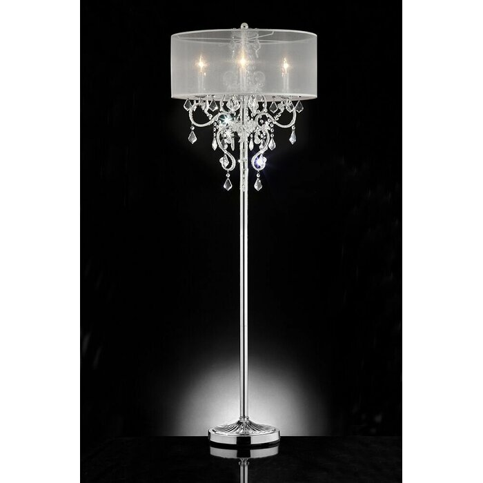 Willa arlo interiors rosalie crystal 63 candelabra floor lamp rosalie crystal 63 candelabra floor lamp aloadofball Image collections