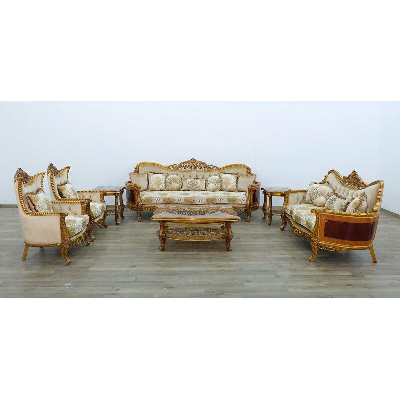 Astoria Grand Phaidra Ii 3 Piece Living Room Set Wayfair