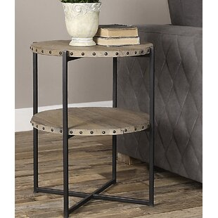 Bedelia Round End Table by Gracie Oaks