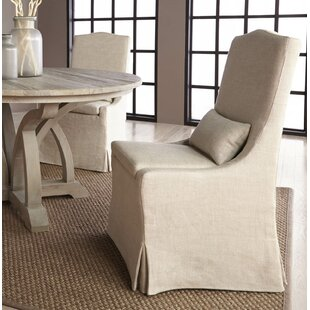 Collette Upholstered Dining Chair (Set of 2) One Allium Way