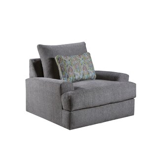 Rosette Swivel Armchair by Latitude Run