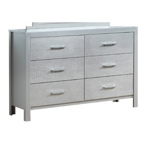 Raye 6 Drawer Double dresser