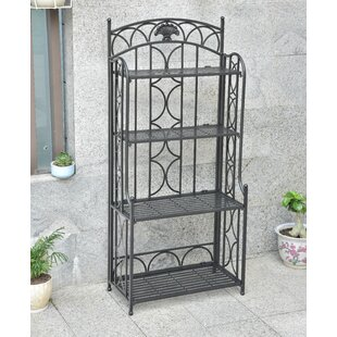 Oak Bluffs 4-Tier Iron Baker's Rack ..