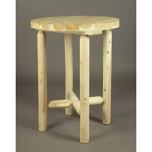 Pub Table Rustic Natural Cedar Furniture