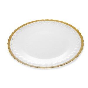 Trophy Plates Fleur Dinner plate (Set of 4)