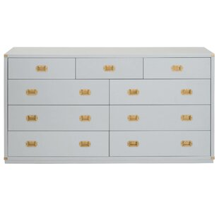 SkeltinCleveland 9 Drawer Media Dresser