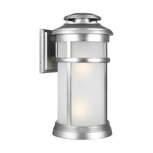 Ishiro 2-Light Wall Outdoor Lantern by Lo..