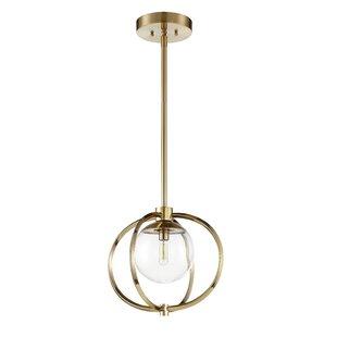 Modern globe pendant lights allmodern bynoe 1 light globe pendant aloadofball Choice Image