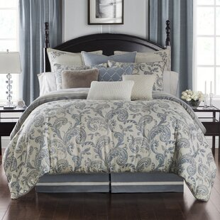 Waterford Bedding Florence 3 Piece Reversible Duvet Set